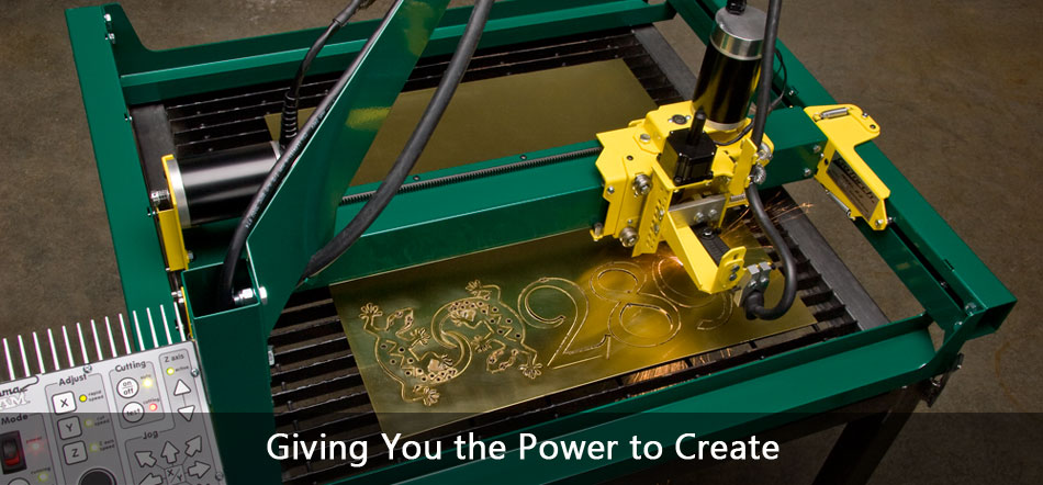 GoTorch CNC plasma cutting machine cutting brass
